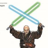 Le illustrazioni dei rapper italiani in versione Star Wars, raccontate dal loro creatore
