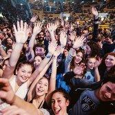 il pubblico ad un concerto
