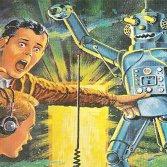 """Dalla copertina di """"Tom Swift and his giant robot"""""""