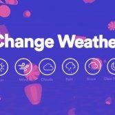 Climatune, il nuovo servizio di Spotify sul meteo