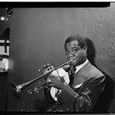 Louis Armstrong, ph: William P. Gottlieb