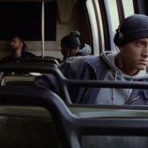"""Un'immagine del video di Eminem """"Lose Yourself"""""""