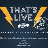 Rockin'1000, Courtney Love sarà la special guest del That's Live 2018