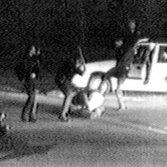 Un frame dal videotape del pestaggio di King