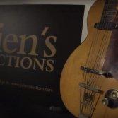 La prima chitarra elettrica di George Harrison, una Hofner Club 40