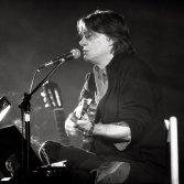 Fabrizio De Andrè nel 1991, foto per concessione di New Press Photo