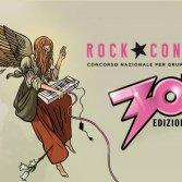 La nuova immagine di Alessandro Baronciani, che cura le grafiche del Rock Contest dal 2015