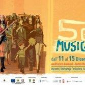"""""""5 Giorni di Musica contro le mafie"""", il programma dell'edizione 2018"""