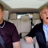 James Corden e Paul McCartney in un episodio di Carpool Karaoke