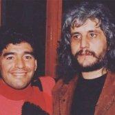 Diego Maradona e Pino Daniele - foto dal profilo Instagram di Sara Daniele