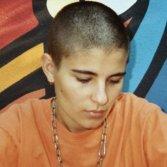 Una giovane Nicol, quando ancora si faceva chiamare Sadpup