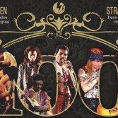 Dettaglio della copertina del centesimo numero di Classic Rock