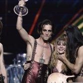 I Måneskin vincono l'Eurovision 2021 (foto cartella stampa)