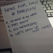 radio 2 rai, La setlist dei News For Lulu a Babylon Radio 2