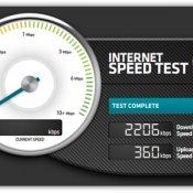 internet, Su 7 mega dichiarati, la velocità media effettiva si aggira intorno a 4 Mbps.