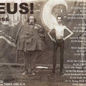tour europeo, Svizzera, Francia, Belgio, Germania e Inghilterra nel tour europeo degli Zeus
