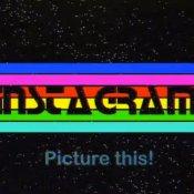 instagram, Un video bellissimo prende Instagram e lo cala negli anni '80