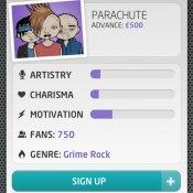 pirateria, Un'immagine dall'app Music Inc, lanciata ieri sul mercato inglese