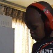 dj, dj tre anni BBC sud africa più giovane al mondo