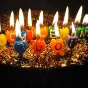 diritto d'autore, torta compleanno