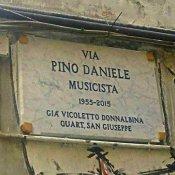 morto, Via Pino Daniele, a Napoli