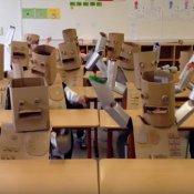 scuola, Kraftwerk video bambini scuola tedesca