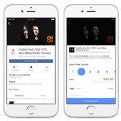 facebook, Facebook buy tickets
