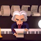 google, Google Doodle Beethoven
