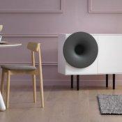 design, Caruso speaker
