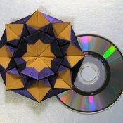 cd, origami cd