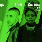 betterdays festival, Maruego, Amir, Karima 2G e Alex Chen