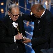 premio oscar, Ennio Morricone Oscar 2016