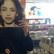 instagram, negozio di dischi copertina