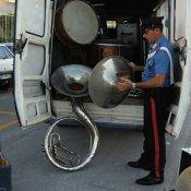 furto, carabinieri furto strumenti musicali