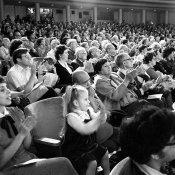 musica classica, pubblico che applaude