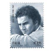 collezionismo, Luigi Tenco Francobollo cantautore morte