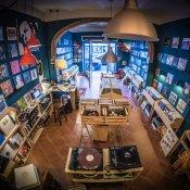 negozio dischi, slow records, negozio di dischi a cecina