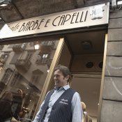 torino, Paolo Barrasso barbiere Torino punk mod orari