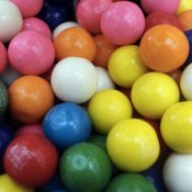 scienza, gomma da masticare chewing gum colorate