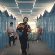 cinema, un'immagine del video di Riccione