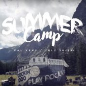 "video, Un'immagine del ""Rockin'1000 Summer Camp - Official Aftermovie"