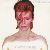 david bowie, David Bowie Aladdin Sane