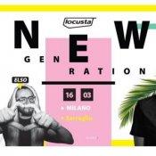 concerti, Locusta New Generation