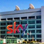 siae, La sede romana di Sky, foto via