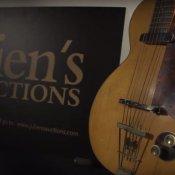 collezionismo, La prima chitarra elettrica di George Harrison, una Hofner Club 40