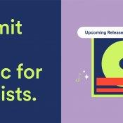 spotify, Segnala nuova musica per le playlist, via Spotify
