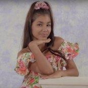 nuovo singolo, Un'immagine del video di Anni 90 di La Niña