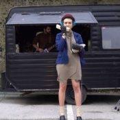 nuovo singolo, Un'immagine del video di Verme dei Gomma