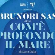 concerti, Brunori Sas canta Come è profondo il mare