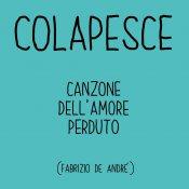 cover, Colapesce  Canzone dell'amore perduto